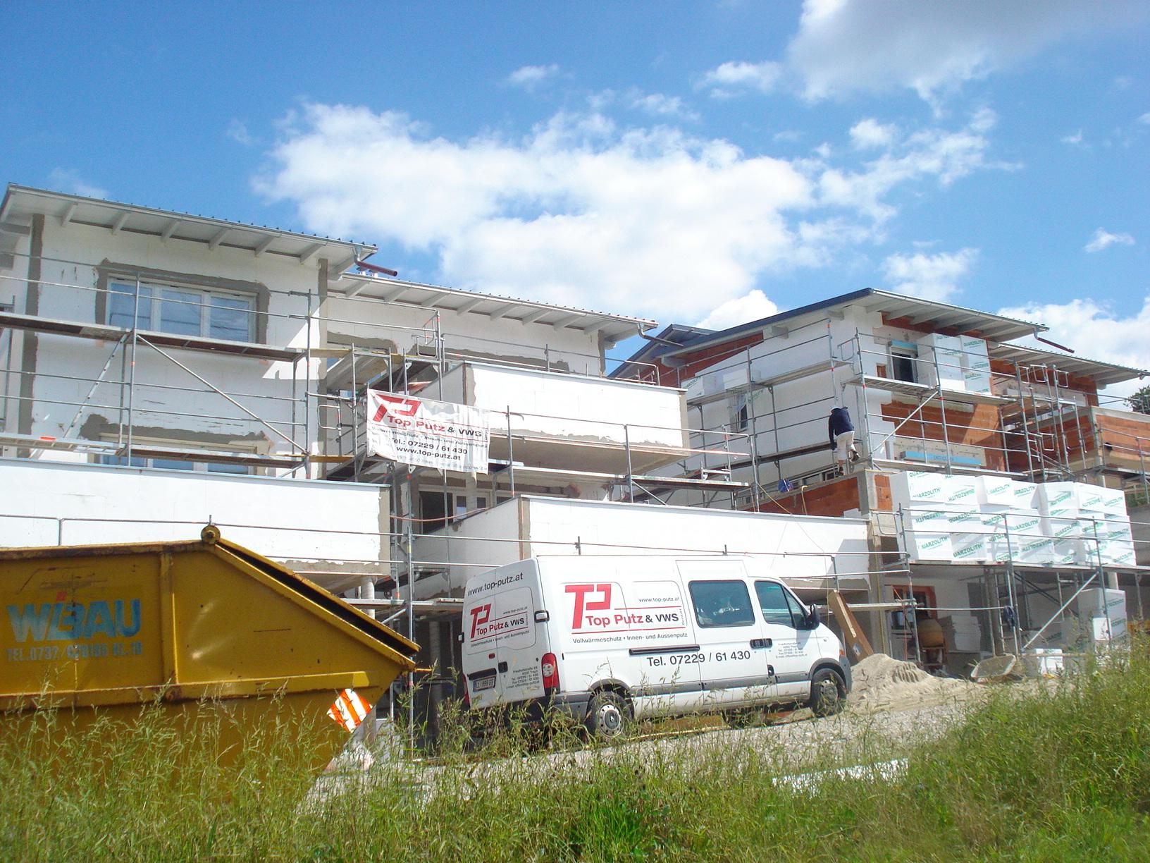Fotos Sanierung Fassade 06 Bau Firma Linz Oberösterreich